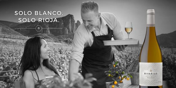 Bodegas Nivarius: Sólo blanco, Solo Rioja.