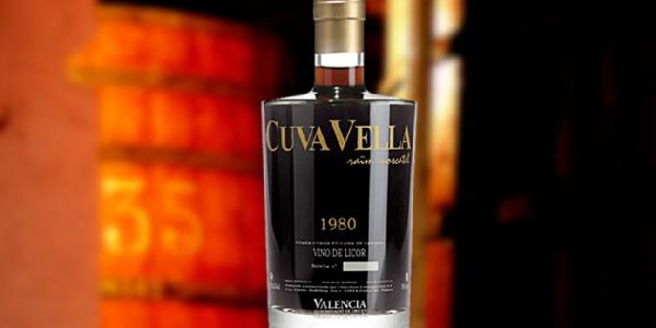 Cuva Vella 1980 Moscatel Vintage. Uno de los secretos mejor guardados de valencia.