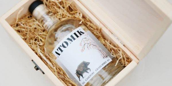 Atomik!!!, vodka made in Chernobyl