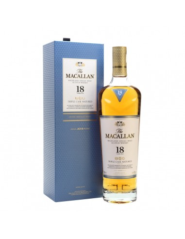 Whisky The Macallan 18 Tripe Cask