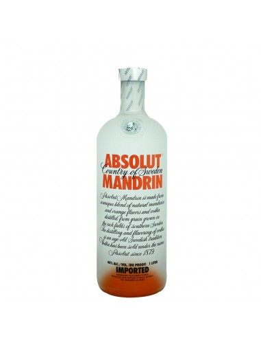 Vodka Absolut Mandrin 1 litro